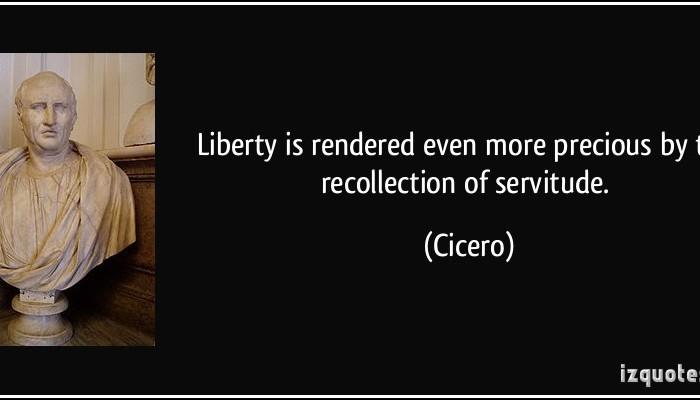 Servitude or Liberty?