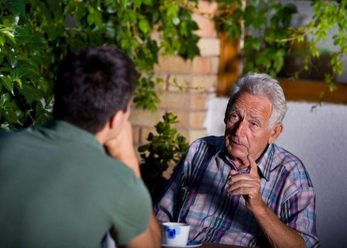 Old Man Talking